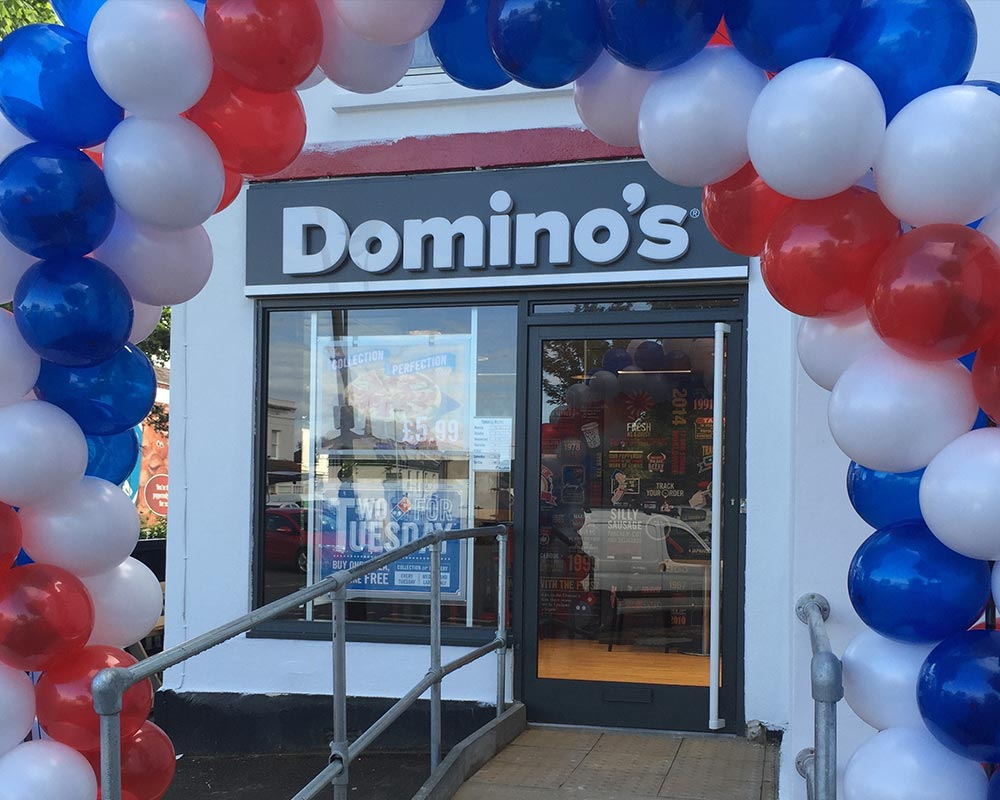 Dominoes Opening Event