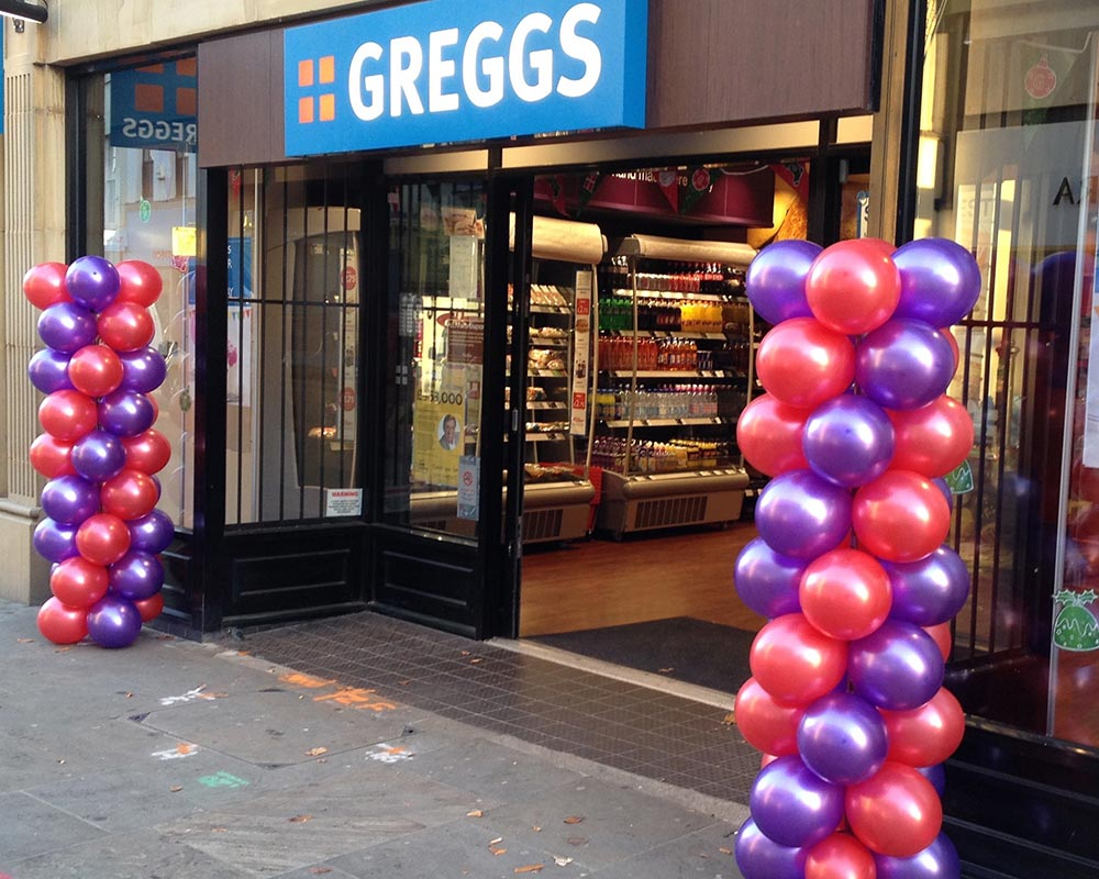 Greggs Opening Event