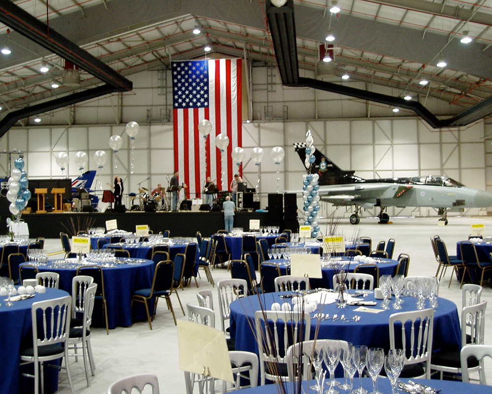 Corporate Event at an Air Museum