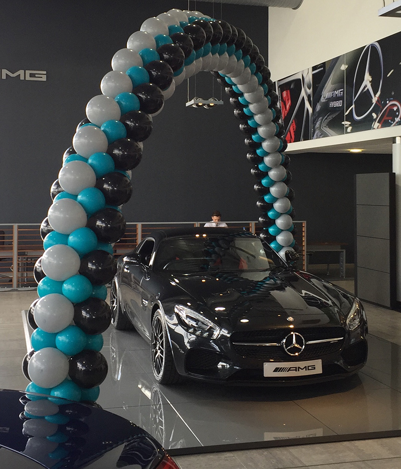Corporate Events with Banners n Balloons