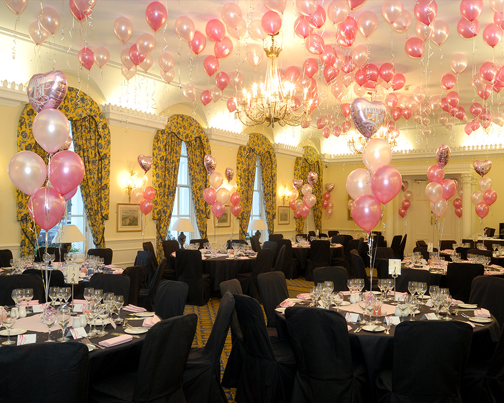 Wedding Table Balloon Decorations